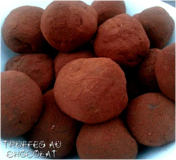 recette truffes au chocolat fait maison 750g. Black Bedroom Furniture Sets. Home Design Ideas