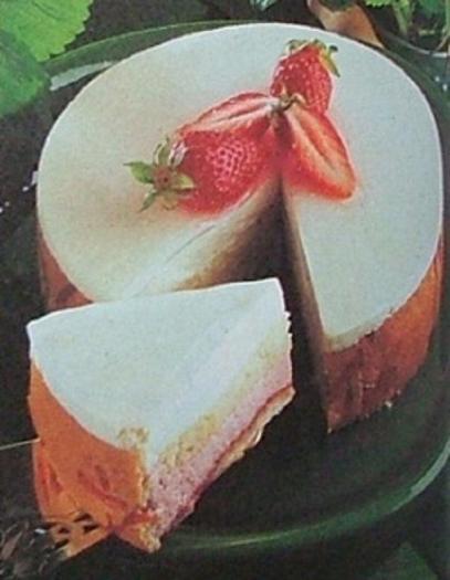 Gateau au fraise 750g