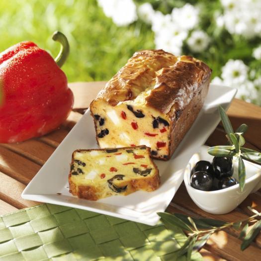 Recette Cake Ou Tarte Au Poivron Et Feta