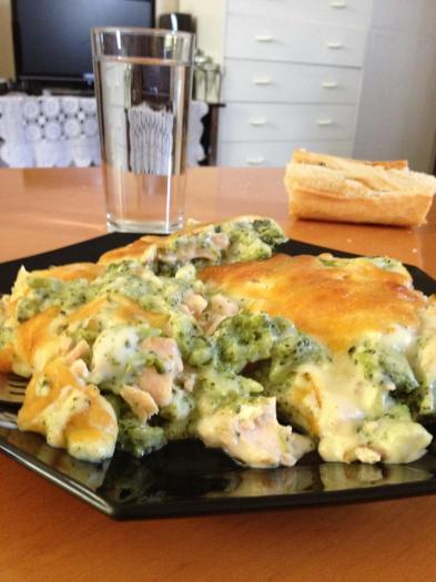 Recette gratin de brocolis la b chamel et au saumon 750g - Cuisiner brocolis surgeles ...