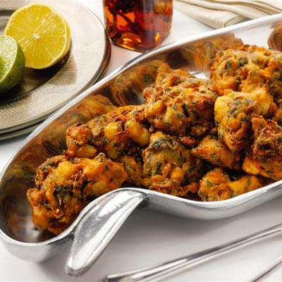Recette - Beignets de légumes à l'indienne | 750g