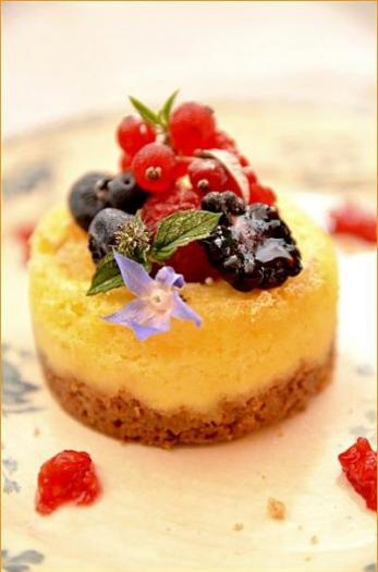Cheese Cake Fruits Rouges Thermomix