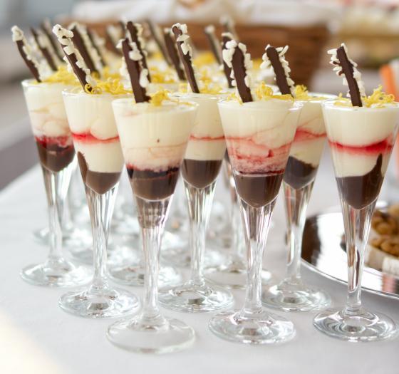 Recette verrines de cr me chocolat mascarpone et coulis for Coulis fruits rouges surgeles