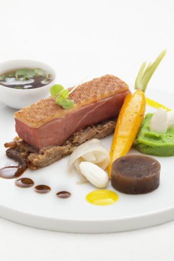 Recette filet de canette r ti au laurier effiloch de - Cuisiner un filet de canard ...