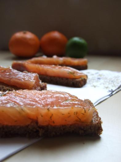 Recette gravlax de saumon aux agrumes 750g - Saumon gravlax rapide ...