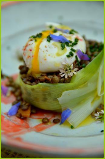 Recette lentilles vertes du puy en salade et oeuf poch - Cuisiner les lentilles vertes ...