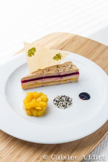 recette millefeuille de foie gras mangue betterave 750g. Black Bedroom Furniture Sets. Home Design Ideas