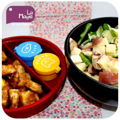 recette bento mozzarella pan e et salade 750g. Black Bedroom Furniture Sets. Home Design Ideas