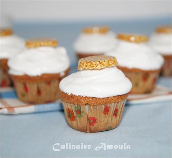 Recette Cupcake A L Orientale Aux Graines De Sesame Et Fleur D