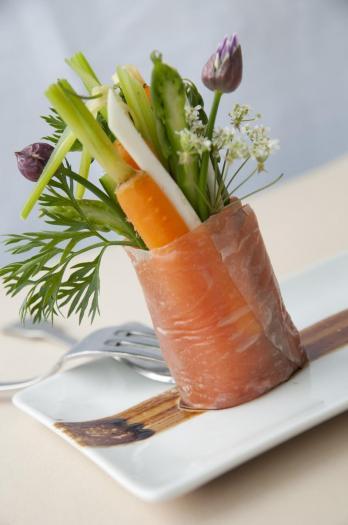 Recette saumon de norv ge fume en bouquet garni estival - Bouquet garni en cuisine ...