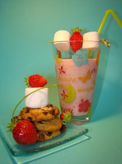 Recette Milk Shake Fraise Vanille De Léa Et Ses Petits Cookies