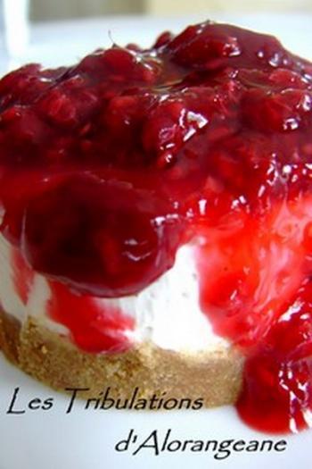 Recette cheesecake aux framboises sans cuisson 750g - Cheesecake framboise sans cuisson ...