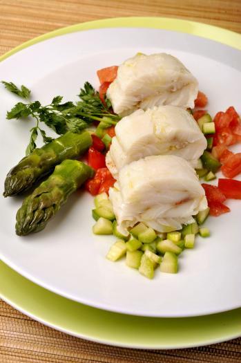 Recette dos de colin d alaska froid et tartare d 39 asperges vertes 750g - Cuisiner les asperges vertes ...
