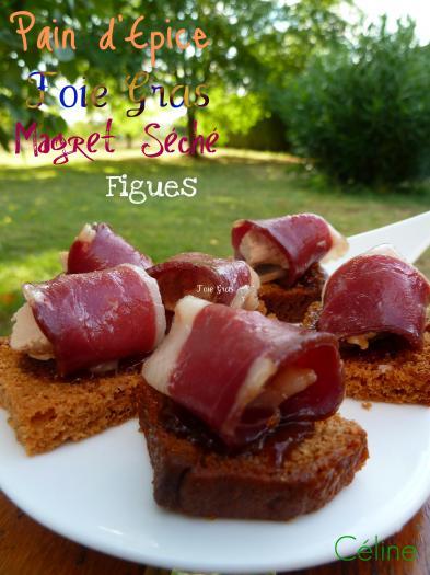 Recette canap s magret foie gras 750g for Canape foie gras