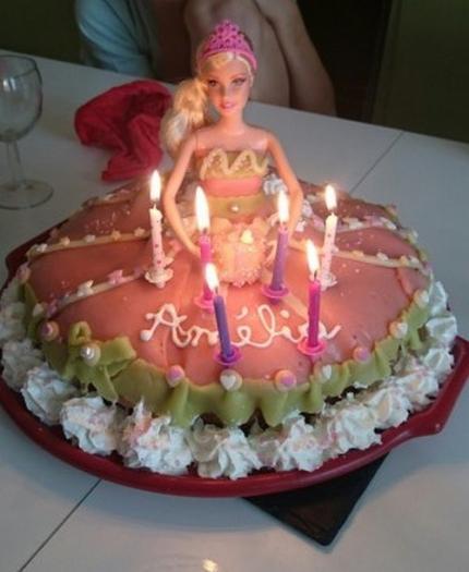 Gâteau Barbie Pour Un Anniversaire De Fille