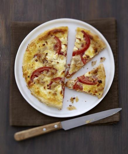 Recette Quiche Tomate Thon Et Fromage Carre Frais 750g