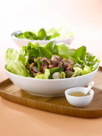 recette salade de boeuf la menthe fra che 750g. Black Bedroom Furniture Sets. Home Design Ideas