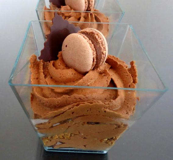 Recette Mousse Au Chocolat Rapide Sur Lit De Croquant Au Chocolat